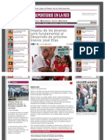 02-07-2013 Impetu de los Jóvenes será fundamental al Desarrollo de próximo trienio