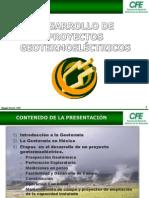 Desarrollo de Campos Geotermicos CFE
