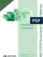 STEPS Epi Info Training Guide