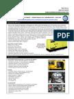 Vegetable Oil Generator Specs - 330 KW