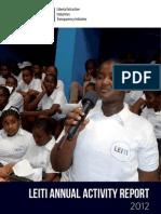 LEITI Annual Activity Report 2012