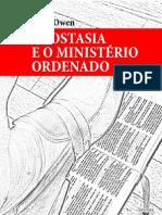 Livro eBook Apostasia e o Ministerio Ordenado