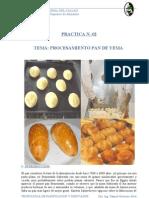 Procesamiento Pan de Yema