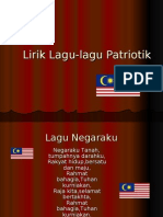 Lagu patriotik