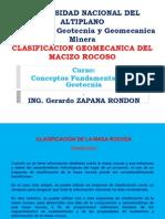 Clasificación de Geotecnica 2013