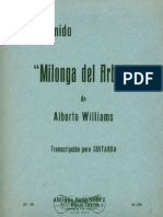 Williams-Anido Milonga Del Arbol