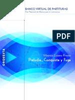 Preludio Conquista Fuga Score