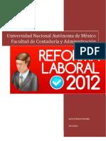 La Reforma Laboral
