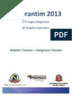 Boletim 00 JR-VOTORANTIM-2013 25-06-2013 - Congresso Tecnico