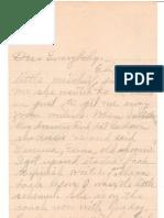 Gradle letter 12-10-1910