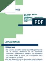 LUXACIONES 2013