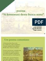 51487998 Analise Do Poema a Fermosura Desta Fresca Serra