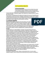 Ensayo - Las neurociencias en la práctica docente