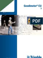 Trimble - GDM CU Manual Usuario P3