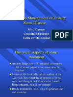 The Modern Management of Stone Disease