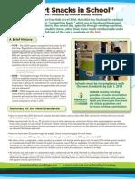 "Guide to USDA's ""Smart Snacks for School"" 2013"