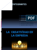 Creatividad en La Empresa