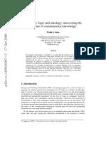 Language, Logic and Ontology