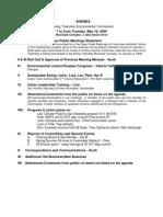 2009-05-19 EEC Agenda