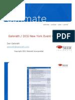 New York Galorath DCG Event Oct 2011 Combined Slides