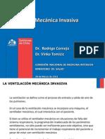 Ventilación Mecanica Minsal 2012