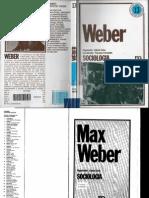 Max Weber Sociologia - COHN, Gabriel