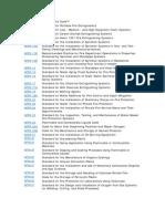 NFPA-List
