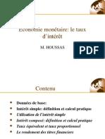 séance 5 économie monétaire