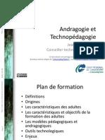 Andragogie Et Technopedagogie