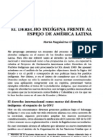 Derecho Indígena frente Espejo A.L Completo