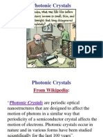 Photonic Crystals 1 - Overview & Examples