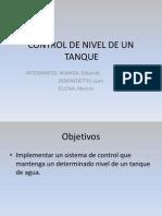 Control de Nivel Tanque 2