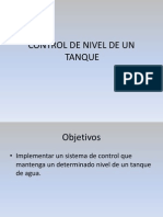 3 Control de Nivel Tanque