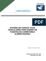 TRANSPORTES - Sistema de Cargas Vivas Vehiculares Para Puentes