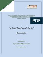 Analisis Critico, Jose Villacreces
