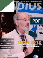 Radius - Volume I Issue 1