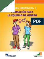 Formación para la equidad de género 2012