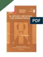 El Estado Mexicano y su Administración