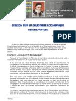 [0702-2 FRA] Session Sur La Solidarite Economique