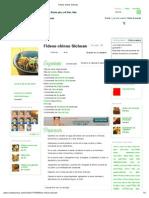 Fideos Chinos Sichuan