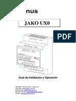 JAKO UX0  Adquisidor 0-10V 4-20mA