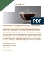 Los pros y los contras de tomar café