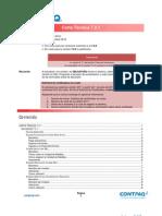 Carta Tecnica ADMW721