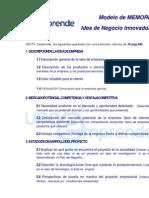 Texto Memoriaidea Empresa
