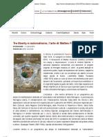 1.7.2013, 'Tra Liberty e Razionalismo, l'Arte Di Matteo Focaccia', Cultura e Culture