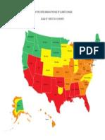 US Sustainability Map
