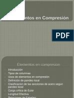 Elementos en Compresion