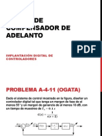 Practica - Diseno de Compensador de Adelanto
