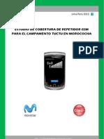 Cobertura de Repetidor Celular Claro/Movistar  señal GSM CHINALCO