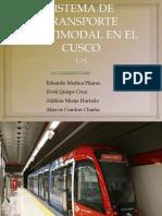 Sistema de Transporte Multimodal en El Cusco 2012